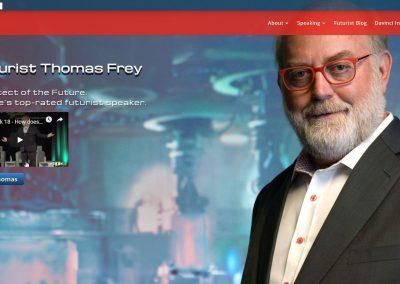 Client Futurist Speaker Thomas Frey